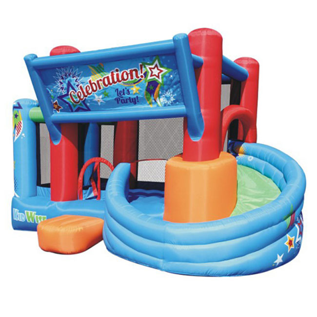 kidwise celebration station bounce house and tower slide bounce house 0 0 Kidwise Celebration Bounce House and Tower Slide