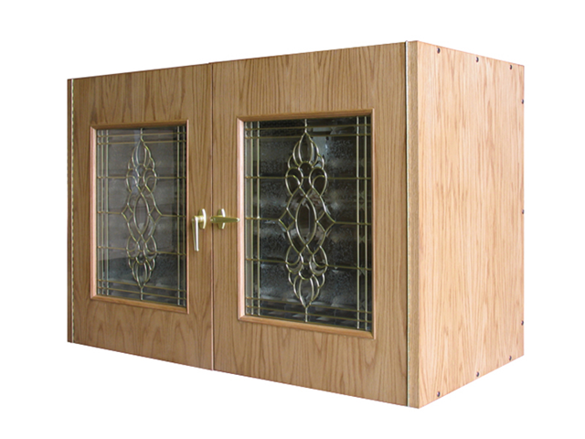 Winsome Wood Ryan Wine Cabinet with Glass Door 92522