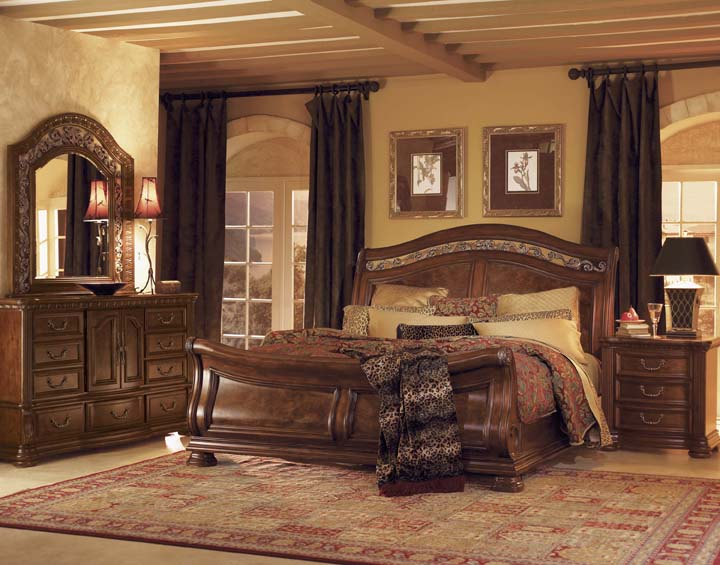 Furniture Bedroom Furniture Sleigh Bed Bedroom Pine