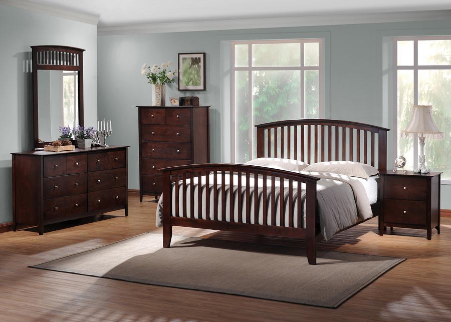 Furniture bedroom furniture bedroom set dark brown for Dark brown bedroom furniture sets