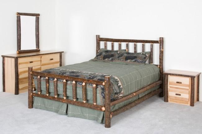 Log Cabin Furniture Log Beds