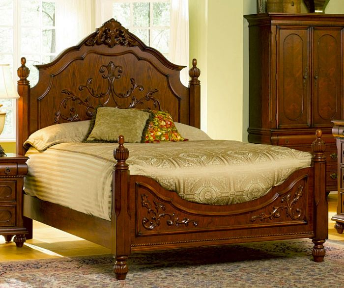 Furniture gt bedroom bed carved