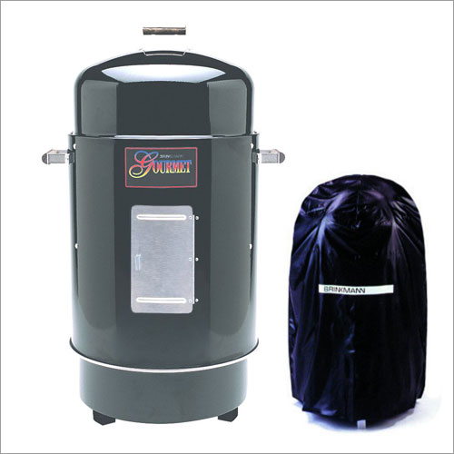 Brinkmann Gourmet Charcoal Smoker and Grill with Vinyl Cover
