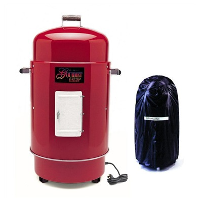 Brinkmann Gourmet Charcoal Smoker 'N Grill with free Vinyl Cover