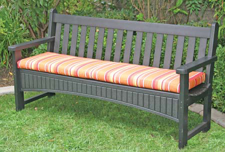 furniture outdoor furniture bench cushion 4 foot
