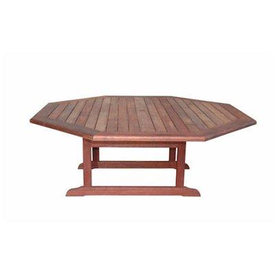 Furniture Dining Room Furniture Table Teak Octagon Table