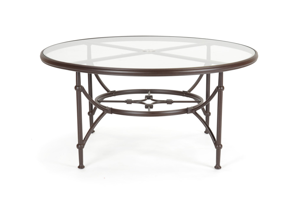 caluco origin round dining table 60 inch outdoor table 0