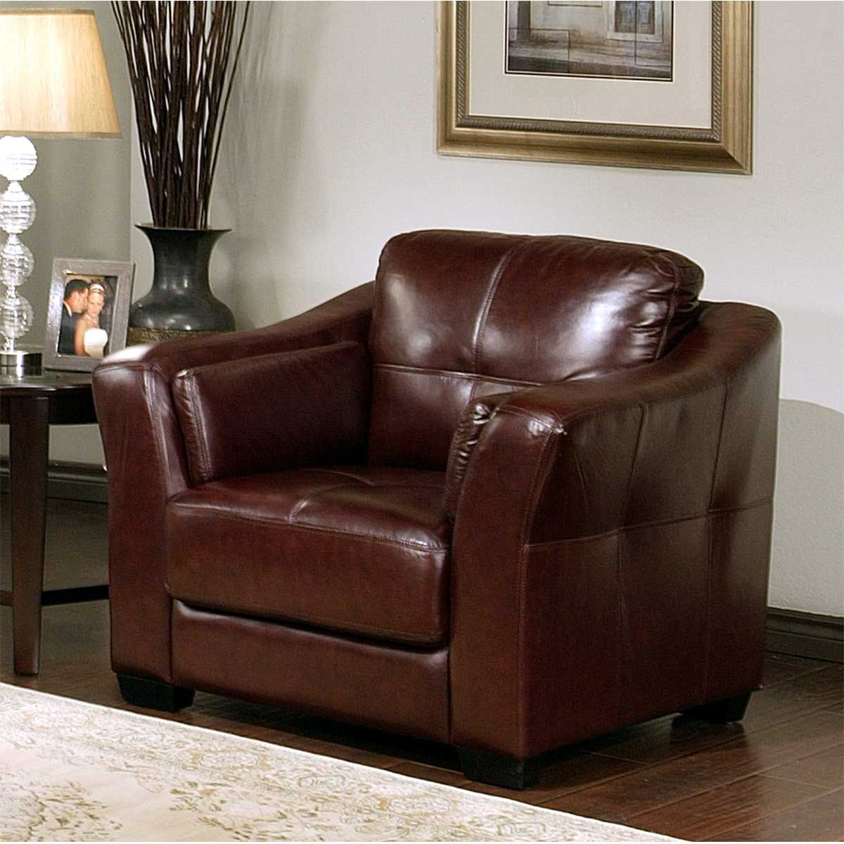 Furniture Living Room Furniture Arm Chair Leather Italian Arm