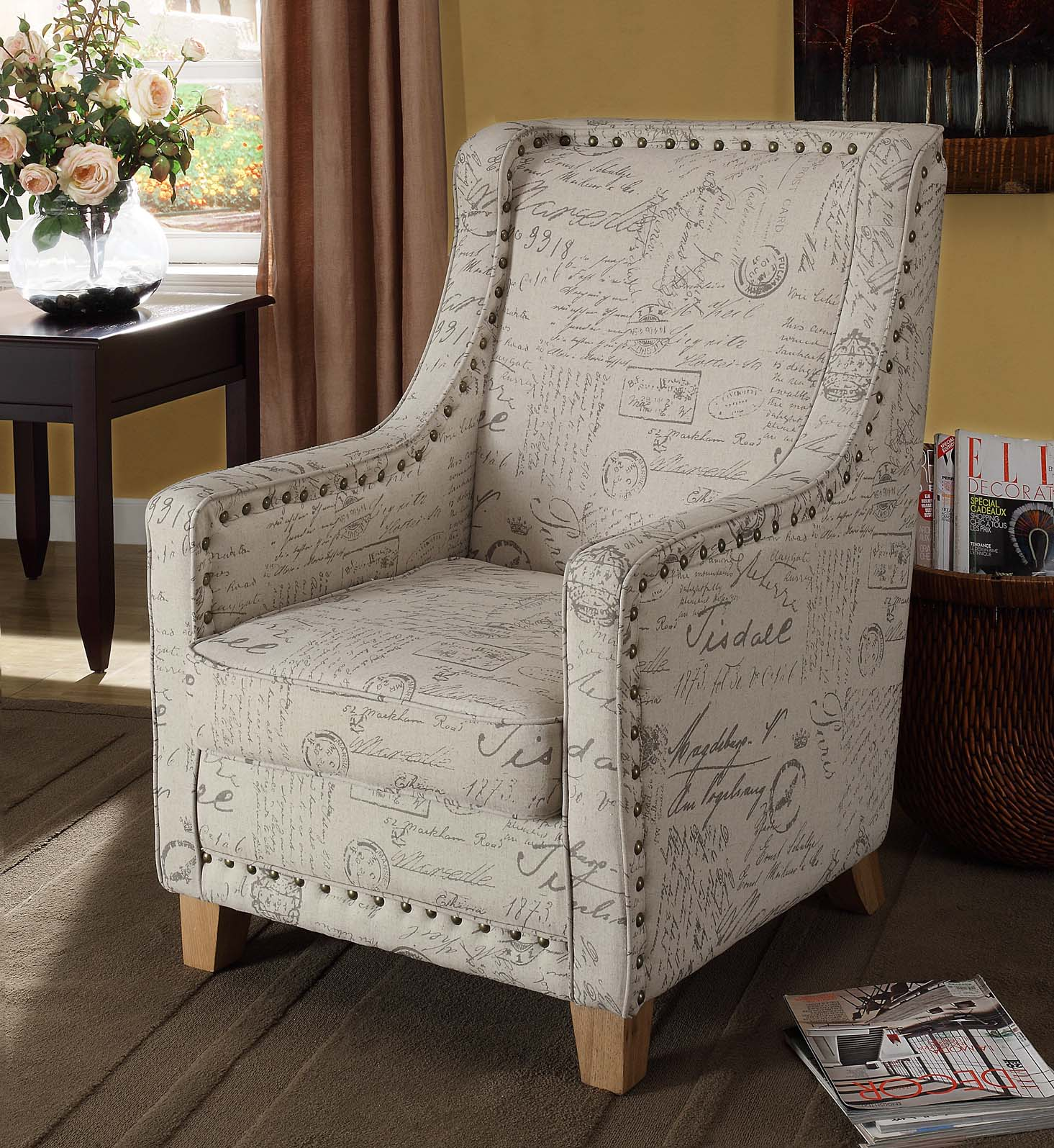 Furniture > Living Room Furniture > High Chair > Antique High Chair title=