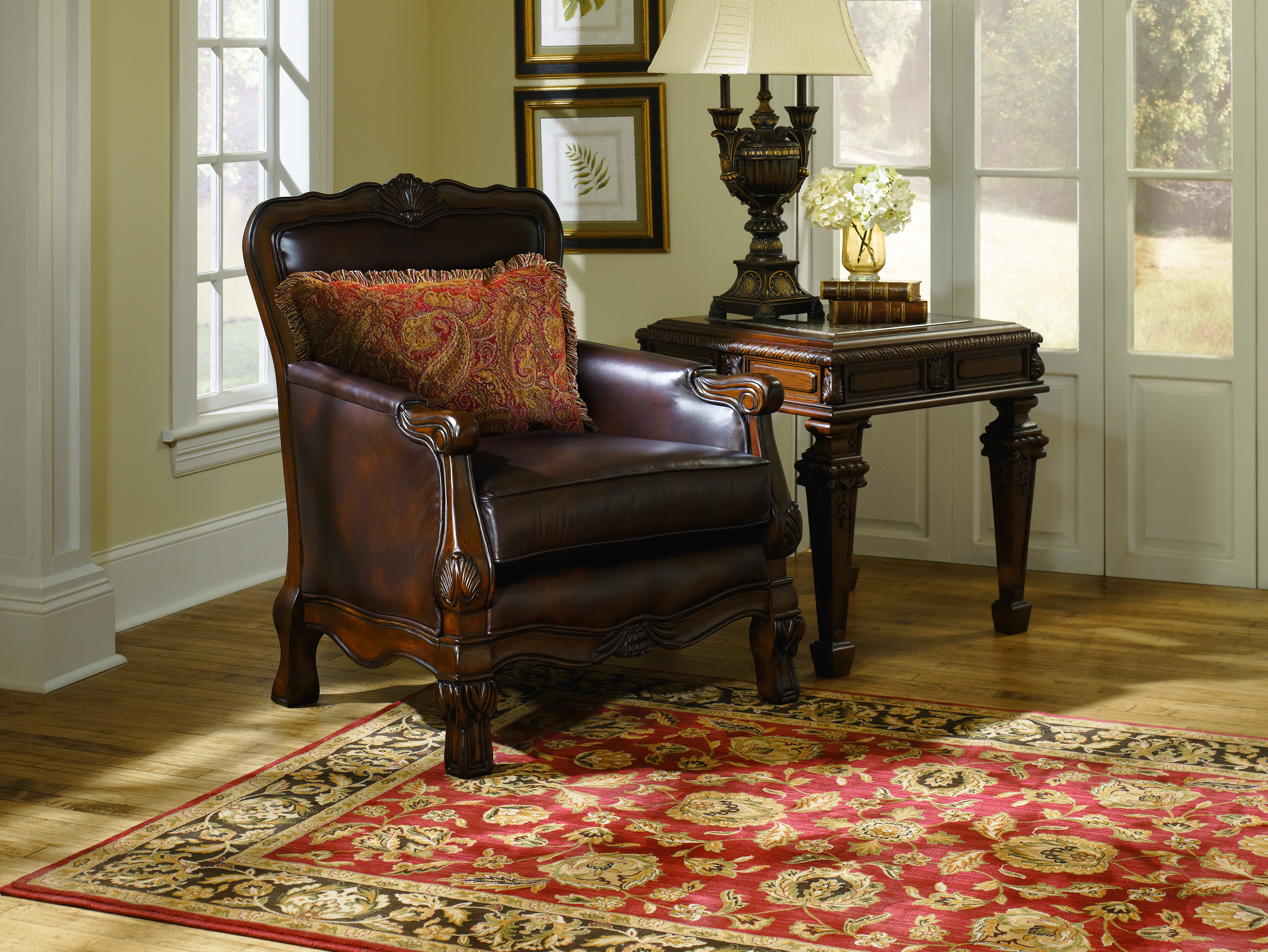 furniture living room furniture accent chair truffle showood