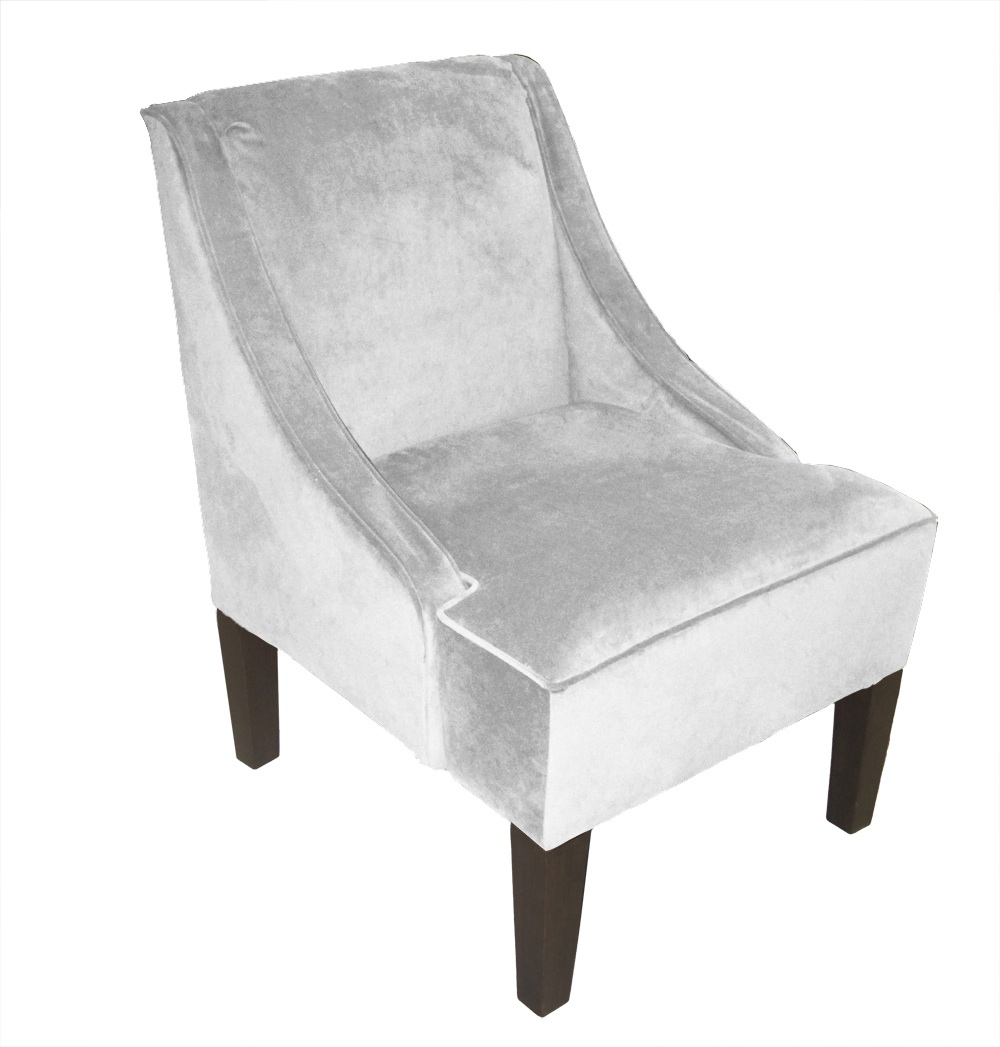 No Arm Living Room Chair Cover With Rhinestones