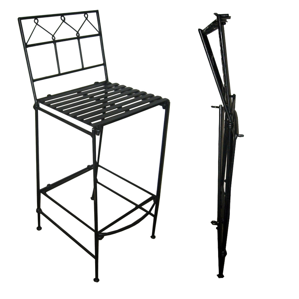 Furniture gt Outdoor Furniture gt Iron gt Pangaea Folding  : Pangaea Home and Garden Folding Classic Iron Bar Stool Outdoor Seating00 from furniturevisit.org size 1000 x 1000 jpeg 248kB