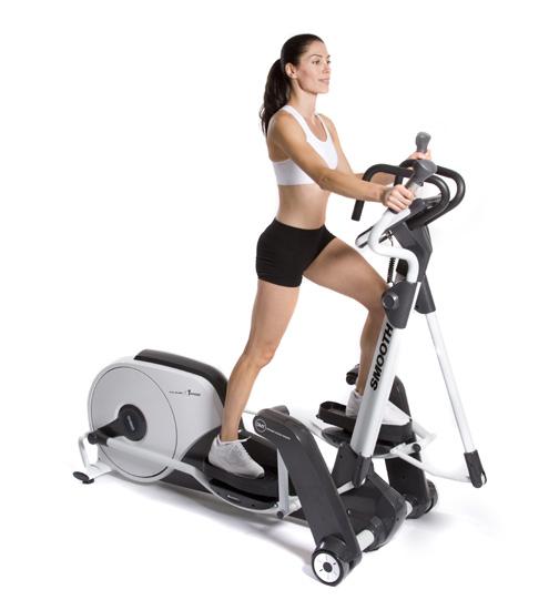 Smooth Fitness Agile DMT X2 Adjustable Stride Elliptical Trainer