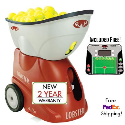 ebay lobster tennis machine