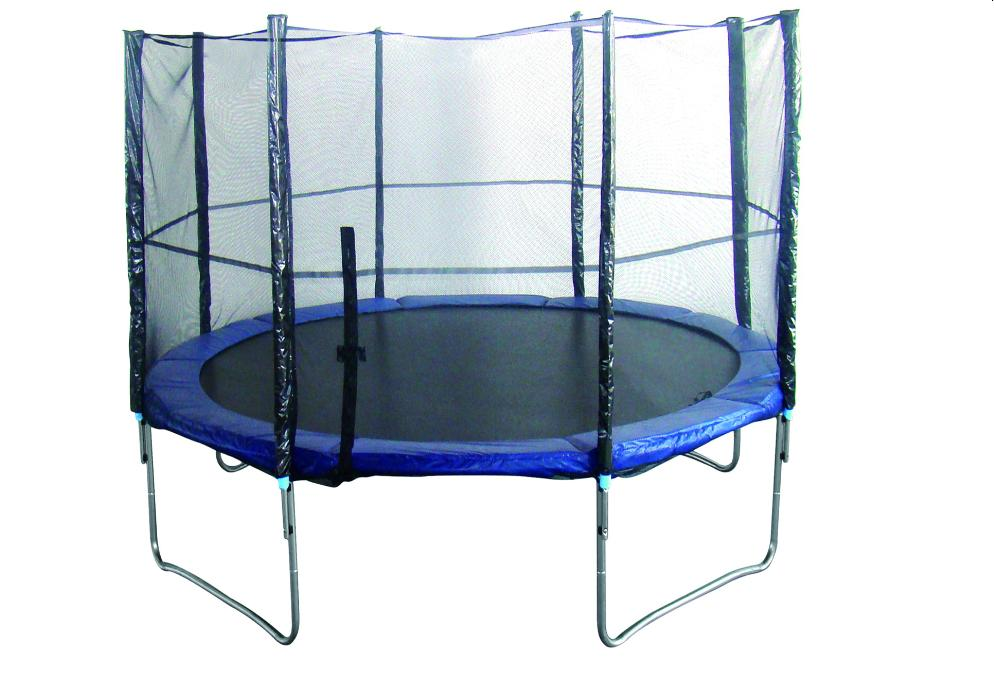 Sunny Health and Fitness 12ft Enclosed Trampoline Trampoline 0 0 Sunny Health and Fitness 12ft Enclosed Trampoline