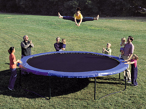 Jumpsport 12 Ft Stagedbounce Trampoline Kwible