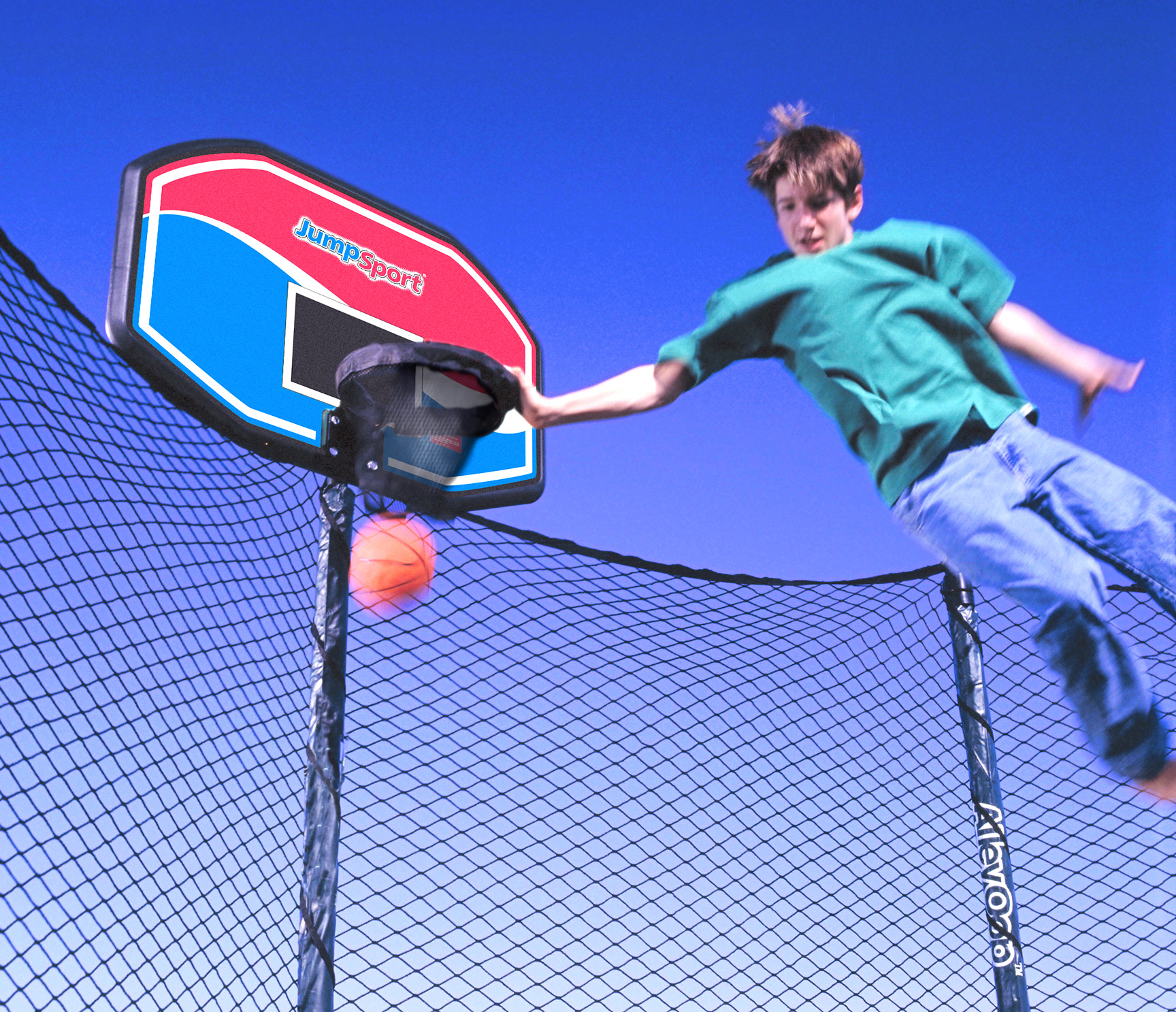 JumpSport ProFlex Basketball Set Trampoline Accessory 0 0 JumpSport ProFlex Basketball Set