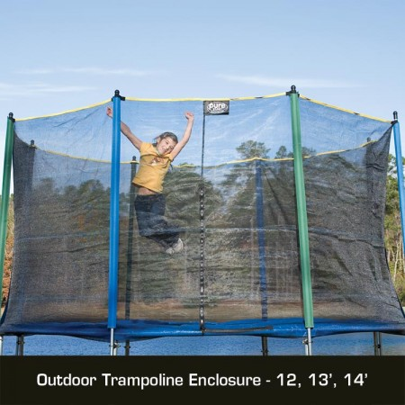 Pure Fun 13 FT Enclosure for Trampoline Trampoline Accessory 0 0 Pure Fun 13 FT Enclosure for Trampoline