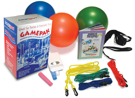 jumpsport game and party pak trampoline accessory 0 0 JumpSport Game and Party Pak   Fast FREE FedEx Shipping!