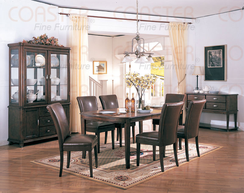 EMORY DINING SET WITH PARSON DINING CHAIRS